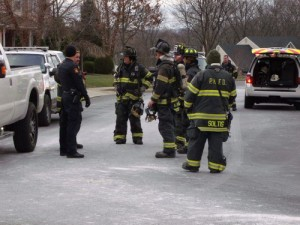 CLOSE CALL AT PA ATTEMPTED SUICIDE SCENE INVOLVING HAZ-MAT
