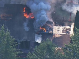 2 FIREFIGHTERS INJURED AT WASHINGTON FIRE