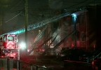 DC FIREFIGHTER SUFFERS SMOKE AND BURN INJURIES AT FIRE