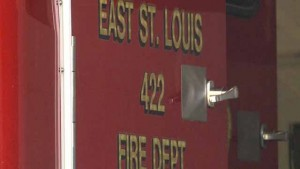 MAYDAY DURING RESCUE IN EAST ST. LOUIS