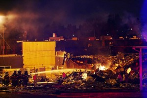EXPLOSION INJURES AT LEAST SEATTLE FIREFIGHTERS