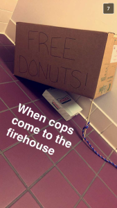A LITTLE FIREFIGHTER VS. COP HUMOR COURTESY OF MY OLD DRIVER!