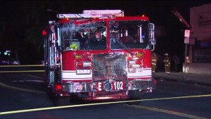 APPARATUS CRASH IN LOS ANGELES-APPARATUS DRIVER SUFFERED MEDICAL EMERGENCY