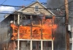 26 FIREFIGHTERS NEED MEDICAL ATTENTION AFTER 3 DECKER FIRE – WEAR YOUR SCBA!