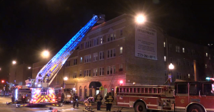 CHICAGO FIREFIGHTER INJURED IN FALL DOWN ELEVATOR SHAFT AT FATAL FIRE