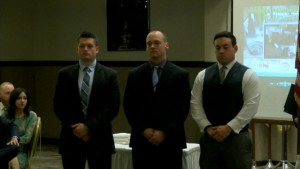 YOUNGSTOWN FIREFIGHTERS RECOGNIZED FOR SAVING CAPTAIN