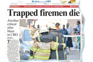 "UPDATE: ""MISTEP"" LEAD TO THE LODD OF TWO SO AFRICAN FIREFIGHTERS"