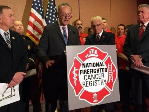 BILL WOULD HELP TRACK CANCER AMONG FIREFIGHTERS