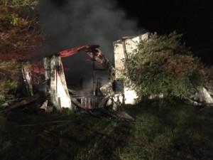 FIREFIGHTER INJURED AT MICHIGAN BARN FIRE