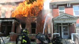 CLOSE CALL FOR ST. LOUIS FIREFIGHTERS