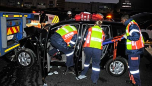 JOHANNESBURG FIREFIGHTER STRUCK AND KILLED WHILE OPERATING AT A CRASH SITE-LODD