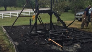 TN FIREFIGHTER INJURED AT HOUSE FIRE
