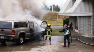 YOGA PANTS ARE NOT APPROVED VEHICLE FIRE PPE!