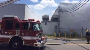 2 VA FIREFIGHTERS INJURED AT WAREHOUSE FIRE