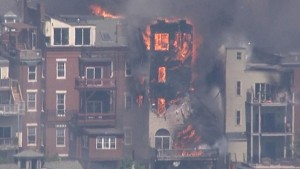 5 BOSTON JAKES INJURED AT 6TH ALARM FIRE