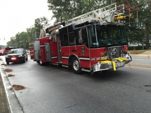 RESPONDING LADDER TRUCK CRASH IN SC