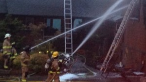 WA FIREFIGHTER INJURED AT HOUSE FIRE