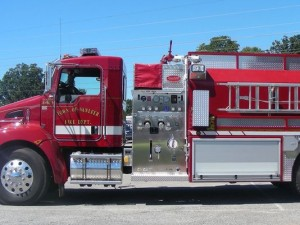 TENN VOLUNTEER FIREFIGHTER DUI IN FIRE TANKER CRASH