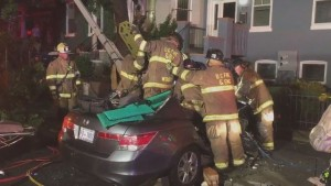 DCFD ENGINE 11 INVOLVED IN RESPONDING PIN-IN CRASH