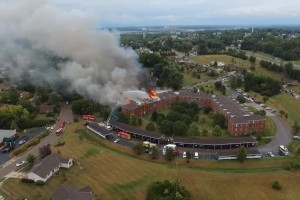 RISKING A LOT TO SAVE A LOT AT OHIO RETIREMENT CENTER FIRE