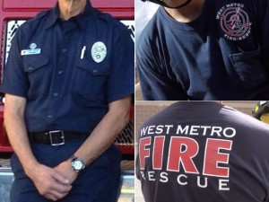 FIREFIGHTERS CHANGE FROM UNIFORMS THAT LOOK LIKE POLICE