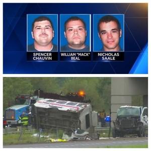 3 FIREFIGHTER LINE OF DUTY DEATHS UPDATES (MN/MI & LA)