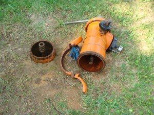 HYDRANT FAILS DURING TEST