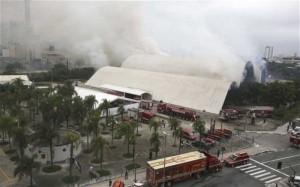 2 FFs SERIOUSLY HURT IN BRAZILIAN FIRE