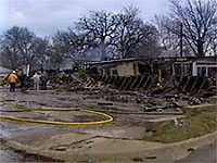 ADD'L UPDATE: ROOF COLLAPSE KILLS DENISON FIREFIGHTER