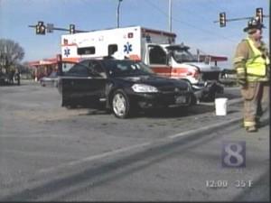 GETTYSBURG WOMAN PRONOUNCED DEAD AFTER AMBULANCE CRASH