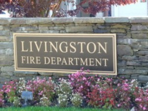 FIRE APPARATUS ROLLOVER IN LIVINGSTON NJ DURING SANDY