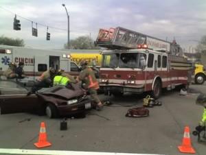 OHIO LADDER TRUCK CRASHES