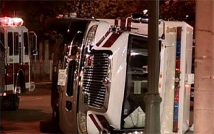 DUI DRIVER HITS AMBULANCE, PATIENT KILLED – JOLIET, ILLINOIS