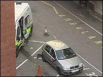 HOSPITAL CRASH DEATH ACCIDENTAL – UK