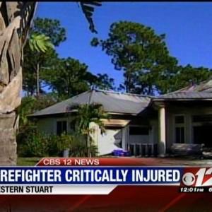 UPDATE: MARTIN CO. FL FF REMAINS CRITICAL