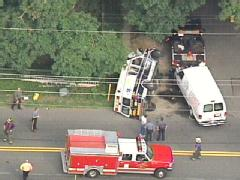 AMBULANCE, VAN CRASH IN SOUTH JERSEY