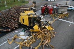 FIRE APPARATUS STRUCK BY LOGGING TRUCK IN SOUTH CAROLINA