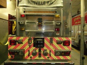 OTISVILLE, NY FD GETS IT AND ADDS SAFETY DOTS TO APPARATUS!