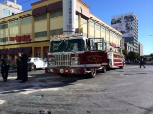 APPARATUS CRASH IN SAN FRAN