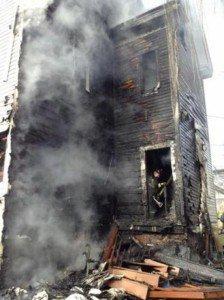 BOSTON JAKE BURNED AT HOUSE FIRE