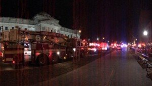 FOUR FDNY FFs INJURED AT BROOKLYN HI-RISE APT. FIRE