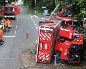LADDER ROLLOVER IN GERMANY
