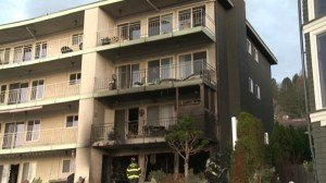 SEATTLE FF SUFFERS FACIAL BURNS AT APT. FIRE