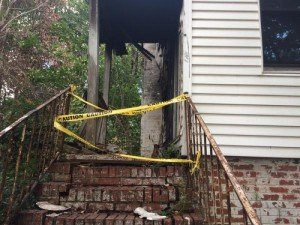 FF INJURED IN FALL THRU PORCH IN SC