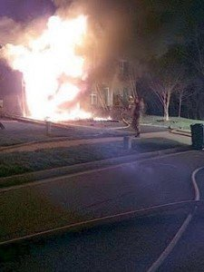 CLOSE CALL IN MARYLAND: BACKDRAFT AT DWELLING FIRE – FIREFIGHTERS THROWN 15-20 FEET