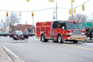 UPDATE: MICHIGAN RESIDENT DIES AFTER RUNNING RED TRAFFIC LIGHT AND CRASHING INTO FIRE APPARATUS