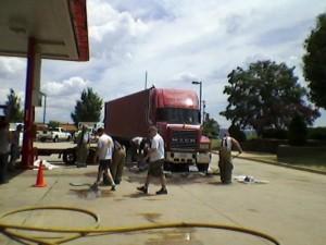 Diesel Fuel Spill Still Needs Proper PPE!..