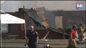 UPDATE: FIREFIGHTERS TALK ABOUT ROOF COLLAPSE AT TRAINING BURN