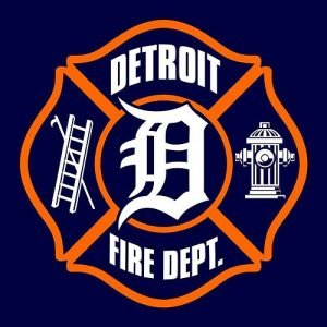 DETROIT FIREFIGHTER BEING TREATED FOR BURN INJURIES