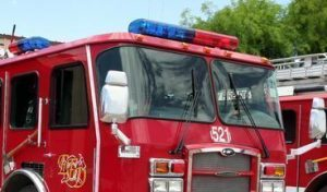FIREFIGHTER INJURED AT AL APARTMENT FIRE